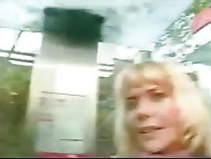Blonde German Milf Anna anal
