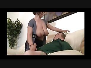 Picture Big Boob Lady Rubbing My Cock