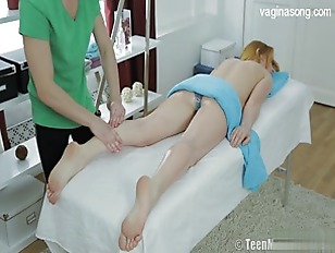Picture Her First Massage And Anal