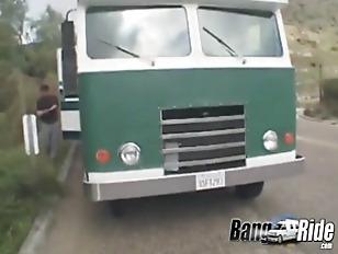 Picture Blonde Girl Enjoys Having Sex In A Van