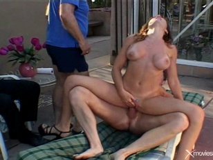 Wife fucks in front of hubby