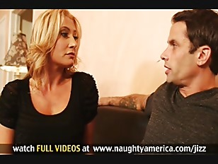 Picture Busty Blonde Milf Invites Sons Friend Over To Giv...