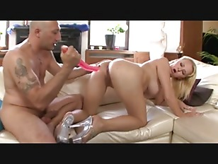 Busty Russian Blonde Hard Anal and Fa...