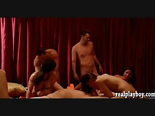 Picture Swingers Swap Partners And Massive Orgy In T...