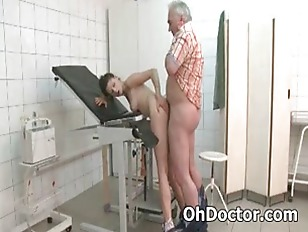Picture Young Patient Rides Old Doctor