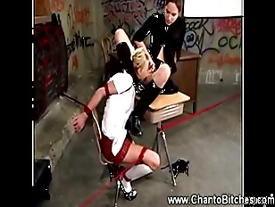 Picture Worthless Student Whore Gets Punished By Her...