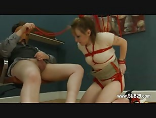 Picture To Much Of Rope And Extreme BDSM Submissive...