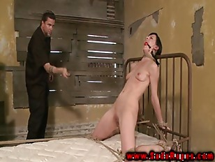 Picture Petite BDSM Fetish Sub Roughly Punished