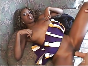 Black cheerleader gets fucked like never before