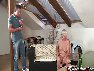 Picture Drunk Orgy With Horny Granny And Her Son In...