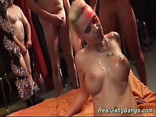 Picture Extreme German Gangbang Fuck Orgy