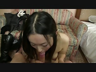 Picture Subtitled Japanese Gravure Model Hopeful POV Blow...