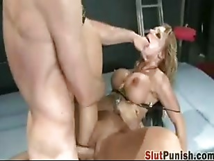Picture Slut Takes Two Cocks Like A Champ
