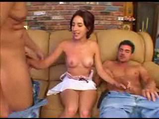 Picture Amateur Anal Threesome Cumshot