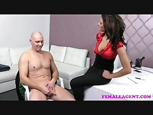 Picture FemaleAgent Impressive Cumshot All Over Beau...
