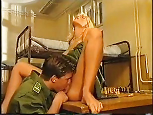 Picture Anita Blond In The Army