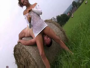 Picture Footjob In The Fields