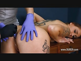 Extremely hardcore BDSM rope sex with...