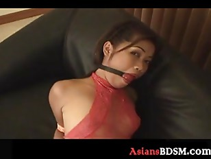 Picture Asian Hottie Hogtied On The Couch