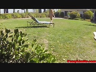 Picture Bigtitted Suntanning Slut Plowed By Intruder