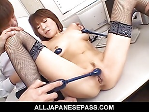 Picture Japanese Cougar Jun Kusanagi Sucking Cock At...