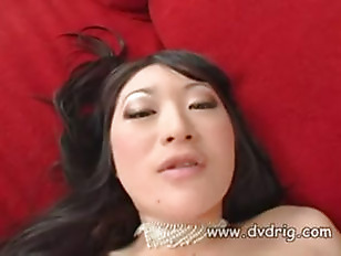 Picture Brunette Thai Cutie Lena Lang Spreads Her Lo...