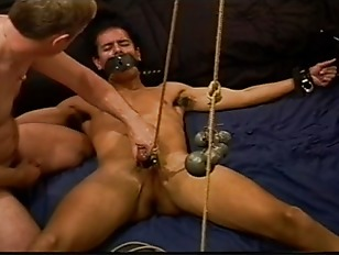 Picture Jackin' A Young Muscular Latino Stud As...