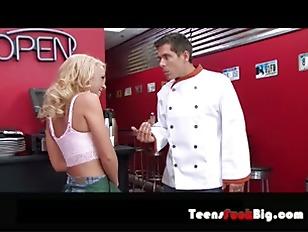 waitress sundae tits