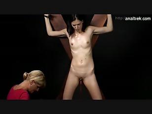 Sexy model brutal training