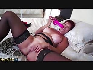 Picture Kinky Redhead Mature Masturbates