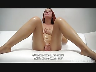 Amateur Redhead Gets Fucked At The Casting