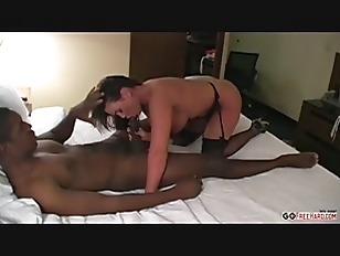 MILF fucked by a black bull