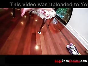 Picture Big Black Cock Balls Deep P1