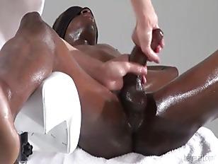 Tantric milking massage