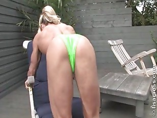 Picture Muscular Mom