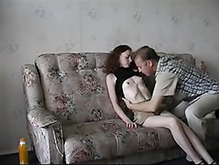Amateur father and daughter->
