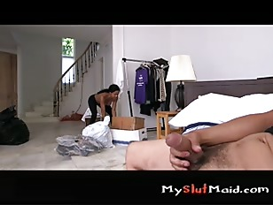 Picture Hot Maid With Big Tits Gets Naked P3