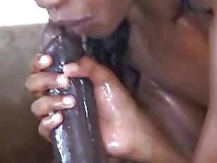 Picture Messy Blowjob
