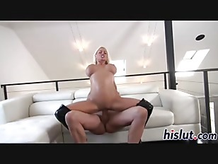Massive hooters bounce on a fat cock