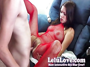 Picture Lelu Love Fucked With Sexy Red Stockings