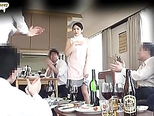 geeky wife forced gangbang in front of husband  [sub english] part 1