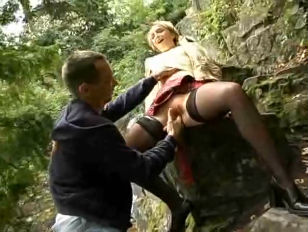 Picture Blonde Outdoor Fucking