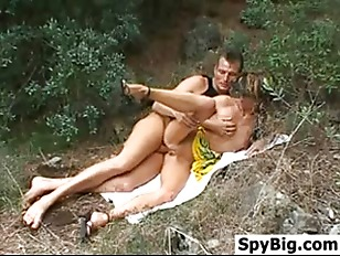 Picture Couple Having Sex In The Woods