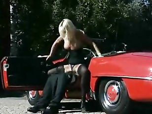 Picture Wife Goes For A Test Drive