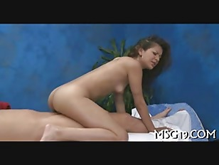 Picture Oiled Beauty Rides Hard Boner