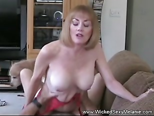 Picture Mom Riding Sons Cock On The Couch