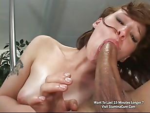 Sexy Brunette Fucked By Huge Cock