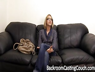 Bella on Backroom Casting Couc