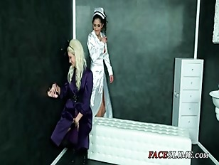 Picture Cum Hungry Nurse Helps Patient Tame Gloryhole