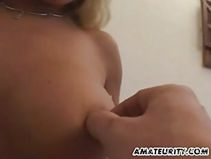 Picture Hot Blonde Amateur Girlfriend With Big Tits...